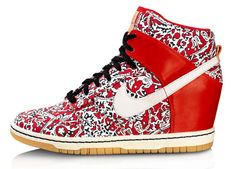 US Women 8!! :)   Special Edition We're Obsessed: Nike's Liberty Wedge Kicks
