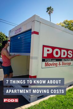 Moving between apartments is stressful and can involve a lot of stairs. With PODS, our moving costs always include more flexibility and less stress. #ContainingTheChaos Moving Costs, Moving Tips, Pods Moving And Storage, High Rise Apartments, Things To Know, Knowing You, Flexibility, Stress, How To Plan