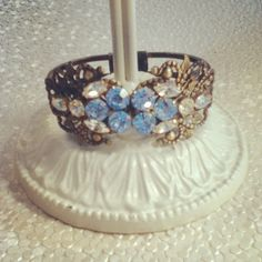 Cuff Bracelet by D. Wallace Designs
