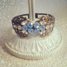Cuff Bracelet by D. Wallace Designs