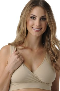 B.D.A. Maternity & Nursing Bra   Before, During, & After {Nude}