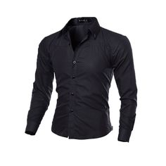 Slim Fit long Sleeve Button shirt