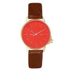 Editor's Pick: a colour-pop face with a leather strap gives a twist to a timeless style. Spring Edit | The Guardian
