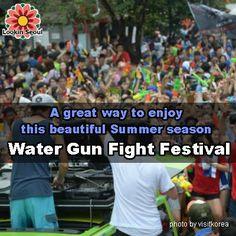 A great way to enjoy this beautiful Summer seasonWater Gun Fight Festival!!07.09.2016 ~ 07.10.2016