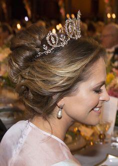 Princess Madeleine Nobel banquet, Stockholm City Hall, Stockholm 2016-12-10 (c) Charles Hammarsten / IBL Nobelbanketten, Stockholms Stadshus 2016-12-10