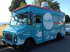 Sweet Ride Froyo & Waffles, Vancouver BC's first froyo truck!