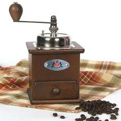 Top-Crank German Coffee Mill
