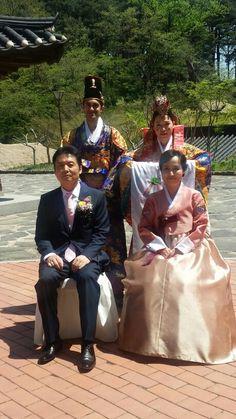 한국에서  하니 안드레아 결혼식