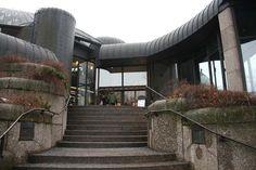 Tampere, City Library #Tampere #Architecture #ReimaPietila #RailiPietila