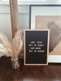 Live less out of habit and more out of intent. Campfire Cookies, Chef Quotes, Quote Of The Week, Wake Up Call, Holiday Wreaths, Live, Health, Instagram, Projection Alarm Clock