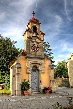 Tiny Chapel in Neuhaus, Franconia, Germany