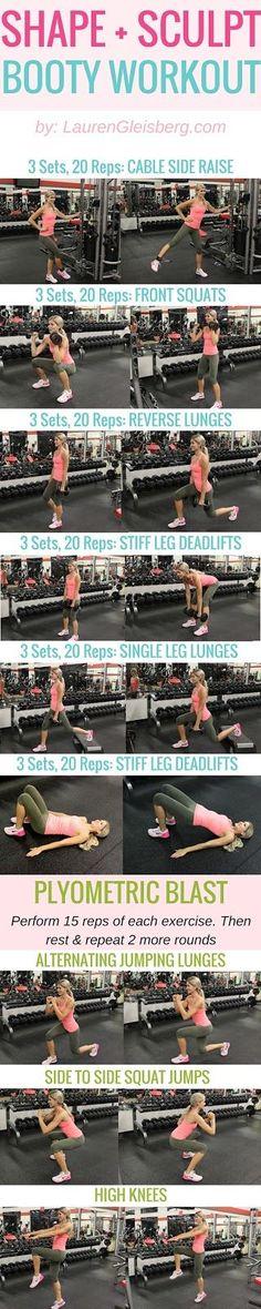 #LGBeautyAndBooty Challenge: Lower Body Volume (W6D1) | Lauren Gleisberg | Happiness, Health, & Fitness