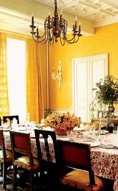 A Look at 30 Dining Rooms in | Room, Interiors and Walls