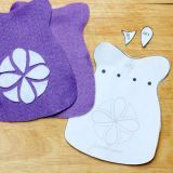 Sofia the First-Inspired Felt Pouch | Spoonful
