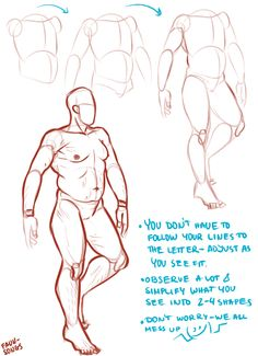 """faun-songs: """"i tried to make a tut on how i draw bodies but it came out as a mix between me trying to make sense of my lazy technique and general art tips?? i get overwhelmed by complex scheming and..."""