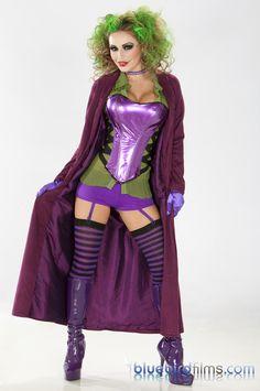 Female Joker Costume | Best female Joker costume I've seen yet.
