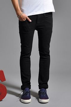 Dr Denim Snap Jeans Black