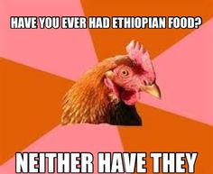 Have you ever had ethiopian food? Visit www.biglolz.net for more and follow us on Twitter @biglolz