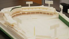 Fenway Park. 3D Model made by Objet using 3D printing.