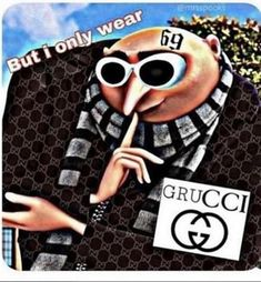 Day 89 tears literally poor down dont they gru grucci grudaily dailygru daily hot cute pewdiepie dm snack clout cloutgoggles gucci lv fashion despicableme minions god fashionnovababy yourewelcome beauty icon famous movie rich flex Funny Shit, Stupid Funny Memes, Funny Relatable Memes, Haha Funny, Hilarious, Funny Life, Memes Humor, Gru Memes, Memes Do Momento