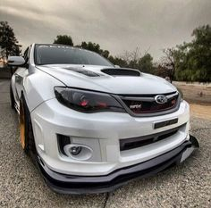 White Subaru