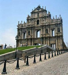 47 World Heritage Sites in China: Historic Centre of Macao