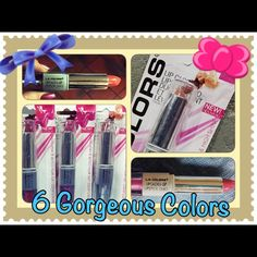 L. A. Colors Lip Stick & Lip Gloss Duo Brand New in the pack. Never used or swatched. 6 gorgeous colors to choose from. See my other post to view each color and comment with your favorite.                            100% Authentic L. A. Colors Makeup Lip Balm & Gloss