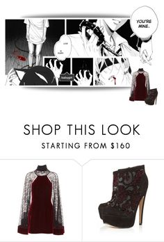 """""""Love Is Scary"""" by elliotii ❤ liked on Polyvore featuring Alexander Wang and Topshop"""