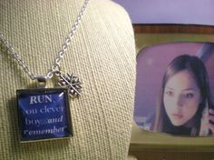 Run You Clever Boy  by GenXNostalgia on Etsy, $18.00