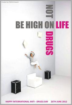 Happy International Anti - Drugs day