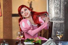 Cosplayer: Lena Litvinova 'aka' Ryoko Demon. From: Russia. Character: Ariel. From: Little Mermaid, Disney Animation Movie. Photo: Kifir 2011.