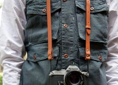 Nice camera too. (Strap from Apolis)