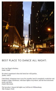 NJAL GUIDE | BEST PLACE TO DANCE ALL NIGHT