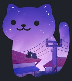 Neko Atsume Cat - This would make a really nice example of a 3D view in a resin pendant.