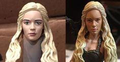 Danaerys Targaryean Pre and Post 2