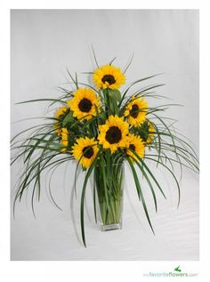 {DIY Flowers}:3 Steps to Create Sunflower Arrangement