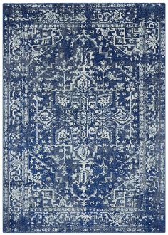 Home Accents Harput x Area Rug, Blue Textured Carpet, Patterned Carpet, Living Room Carpet, Rugs In Living Room, Navy Living Rooms, Room Rugs, Morrocan Decor, Moroccan Bedroom, Moroccan Lanterns