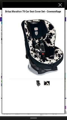 Cowhide carseat