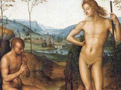 Le Pérugin, Apollon et Daphnis