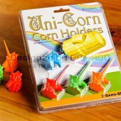 Uni-Corn Corn Holders via Gama-Go.com