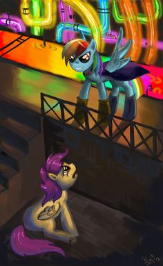 Rainbow Factory (Request by DymasyaSilver on DeviantArt My Little Pony Characters, Mlp My Little Pony, My Little Pony Friendship, Mlp Creepypasta, Beautiful Drawings, Rainbow Dash, Cool Things To Make, Scary, Horror