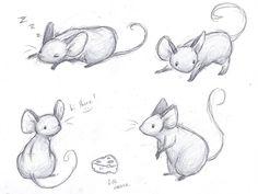Mice Sketches by sleighbelles.deviantart.com on @deviantART
