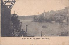 Old postcard, Castelorizo