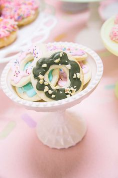 Donut theme Birthday Party Ideas | Photo 1 of 199