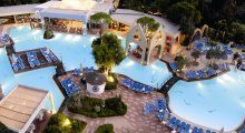 Dionysos Hotel is set in a blooming tropical garden, amongst pine and olive trees, with bars and restaurants surrounding its water lake pool. Fine Hotels, Best Hotels, Property Real Estate, Property For Sale, Beach Properties, Sunny Beach, Apartments For Sale, Tropical Garden, Beach Resorts