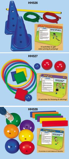 Fun to Move! Skill-Building Kits keep your students learning new active skills daily!  #LakeshoreDreamClassroom