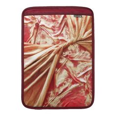 Twisted Red and Gold MacBook Air Sleeve