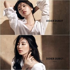 'Suzy' showed off her mesmerizing charms. She revealed her pictorial for a jewelry brand on February Suzy strikes various poses in a loose-fit white shirt. Korean Beauty, Asian Beauty, Kim Hyuna, Miss A Suzy, Wild Girl, Bae Suzy, Beauty Shots, Foto Pose, Poses