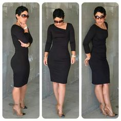 What woman could resist a Simple & Sexy Little Black Dress! Love it! (Mimi Style)