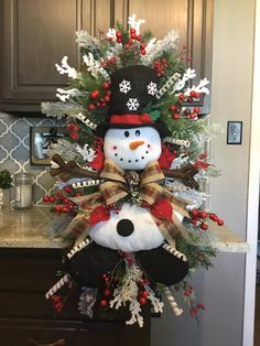 Snowman Wreath, Christmas wreath, Christmas Door wreath, Door Decor, christmas Decor About may slightly change with availability. Christmas Door Wreaths, Christmas Swags, Christmas Door Decorations, Christmas Centerpieces, Holiday Wreaths, Christmas Home, Christmas Crafts, Christmas Ornaments, Christmas Quotes